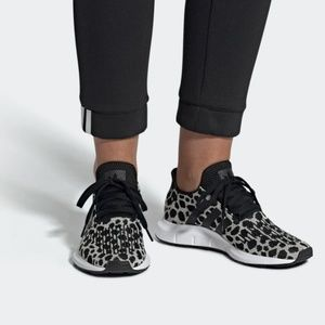 Adidas Swift Running Shoes Leopard Print